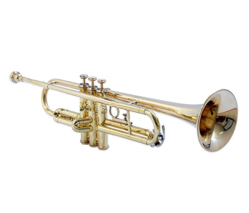 TRUMPET Bb PITCH FOR SALE BRASS SMALL BELL COLOR WITH FREE