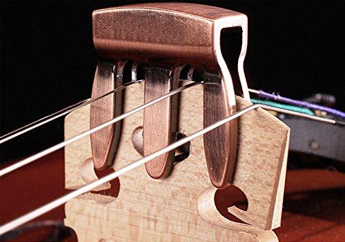 Violin Practice Mute Violin Silencer – Durable Chrome
