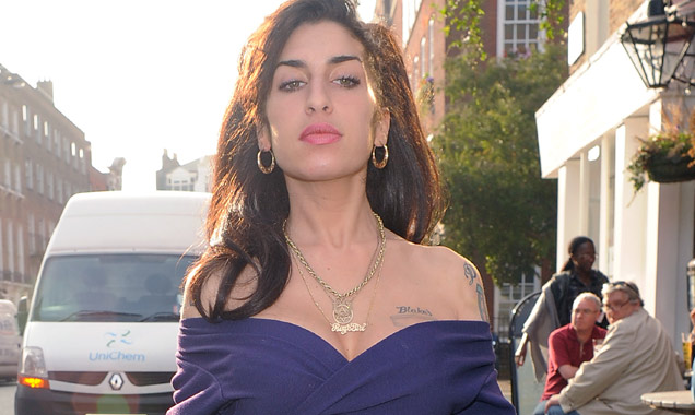 Amy Winehouse pictured in 2009