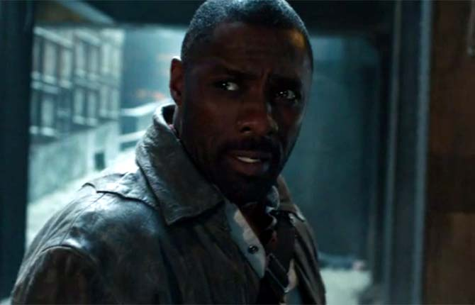 Idris Elba took to the screen as the Gunslinger in 'The Dark Tower'
