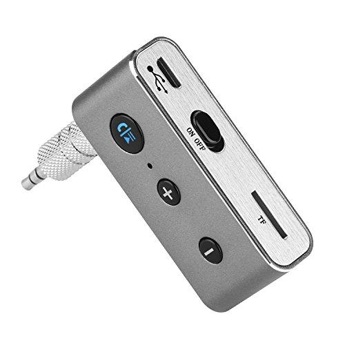 AGPTEK Portable Car Aux Bluetooth Adapter & Wireless