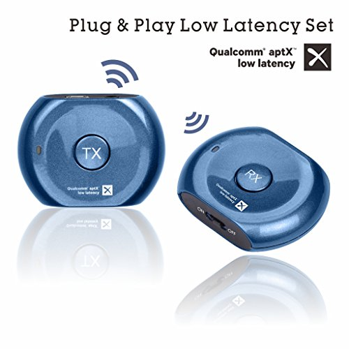 Avantree PLUG & PLAY aptX Low Latency Bluetooth Transmitter