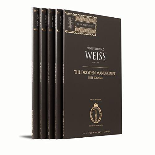 The Dresden Manuscript, Lute Sonatas | Vol. 1 to 5 |