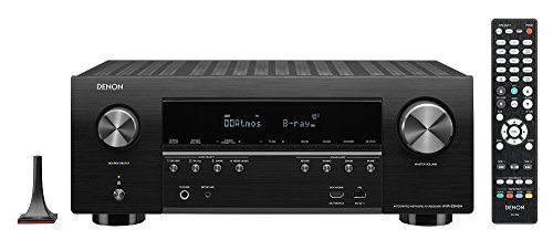 Denon AV Receiver Audio & Video Component Receiver Black