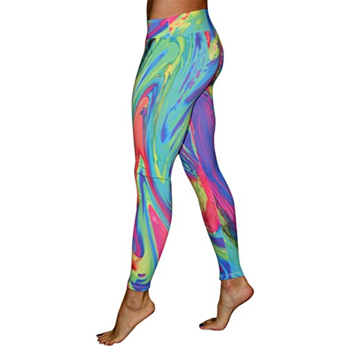 Londonyღ♕ Athletic Pants Sale! 3D Angel Wing Print Active
