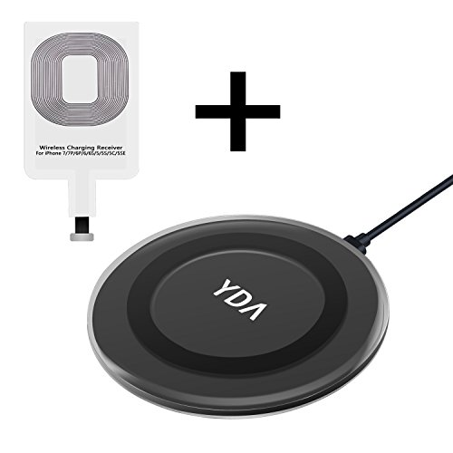 Wireless Charger,Qi Wireless Charger Pad Compatible for