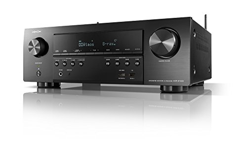 Denon AVR-S740H Receiver, 7.2 Channel 4K Ultra HD for