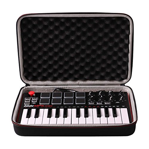 LTGEM Travel Hard Carrying Case for Akai Professional MPK