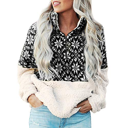 Gorday Sale Women Christmas Sweatshirt Casual Printed
