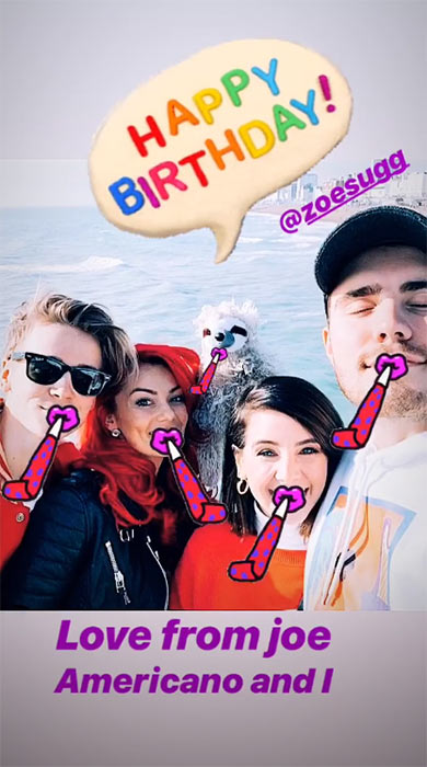Dianne-Buswell-birthday-message-zoella