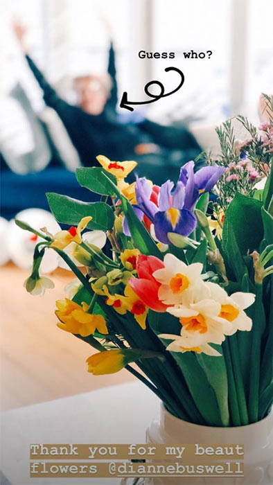 Dianne-Buswell-flowers-zoella