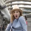 Jessica Chastain Got Bitten On Boob By Horse
